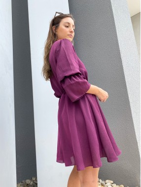 Vestido Alice Roxo