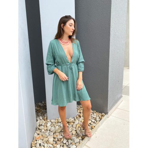 Vestido Alice Verde