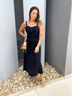 Vestido Giovanna Preto