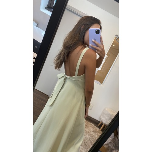 Vestido Giovanna Verde Menta