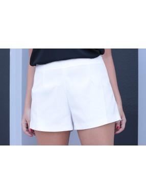 Shorts Alfaiataria Betina Branco