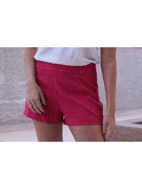 Shorts Alfaiataria Betina Rosa
